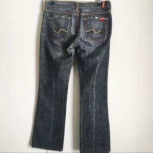 7 For All Mankind • Bootcut Flip Flop Jeans 29